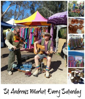 link to St Andrews Saturday market