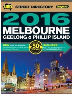 Melbourne UBD 2016 edition