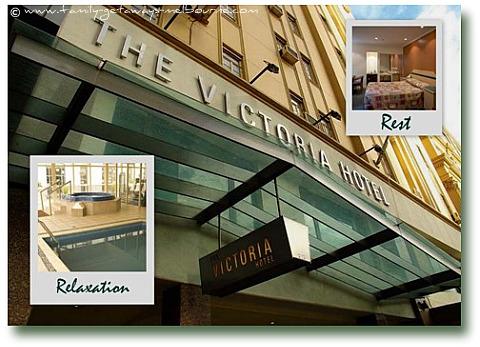 The Historic Victoria Hotel - Melbourne Australia