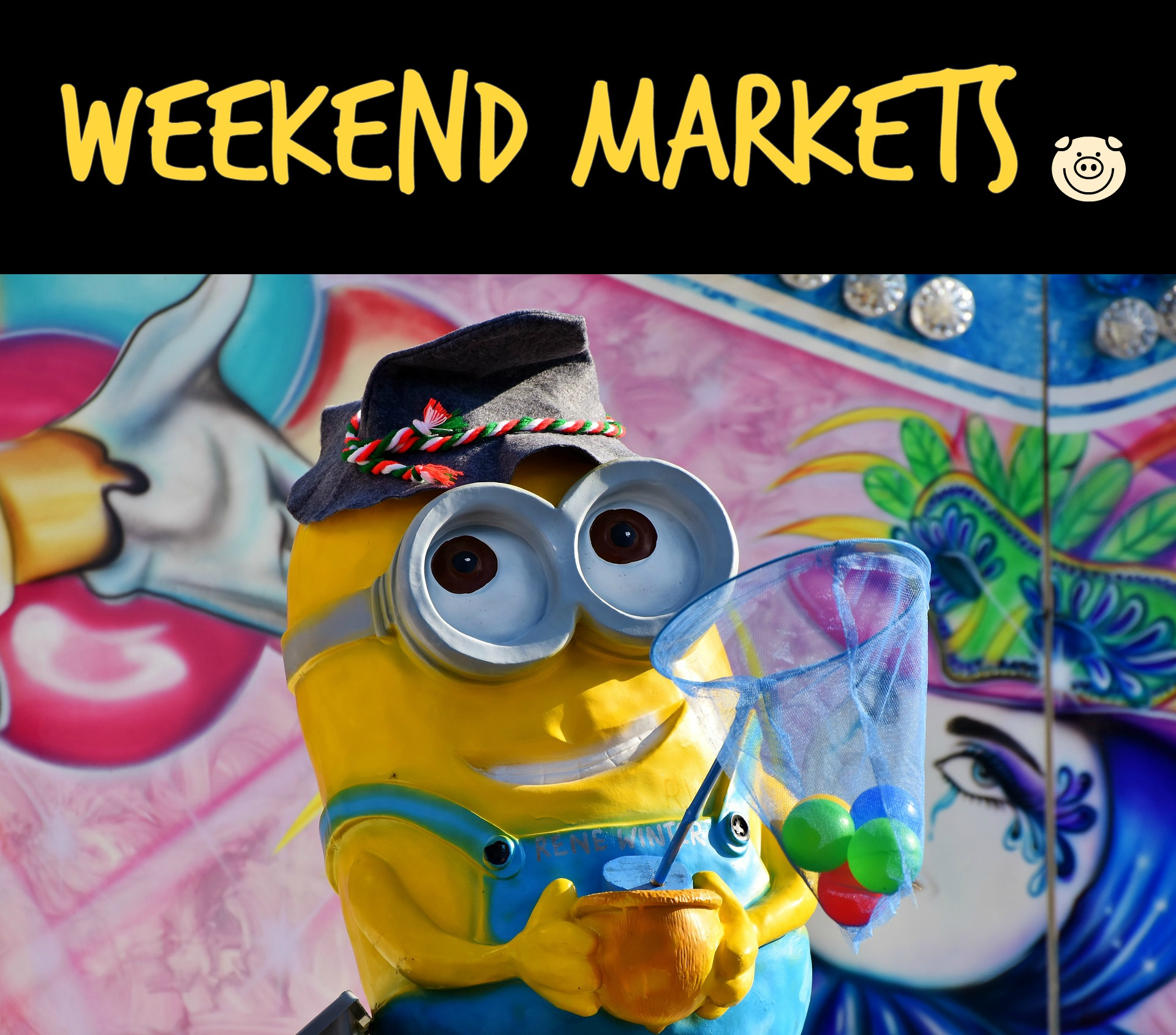 weekend markets in Melbourne