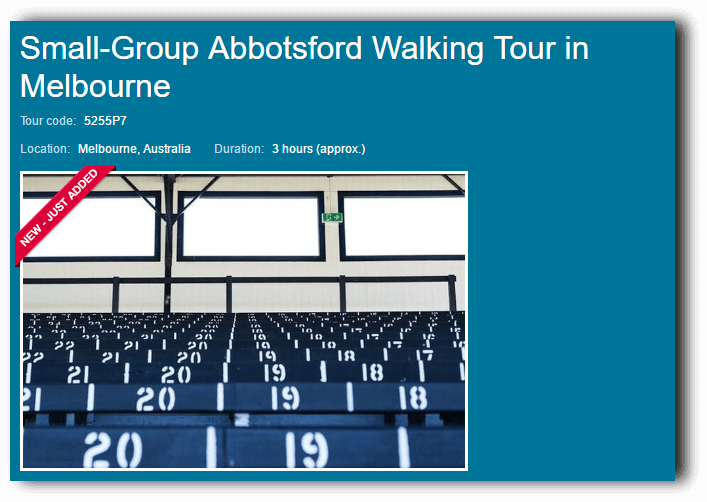 Viator Small Walking Tour of Abbotsford