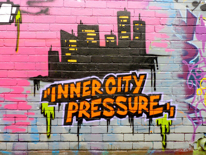 Inner Pressure City Street Art compliments of https://flic.kr/p/e3QmLw