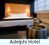 Thumbnail graphic link to Site Page on The Adelphi Hotel