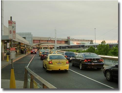 taxi at Tullamarine airport