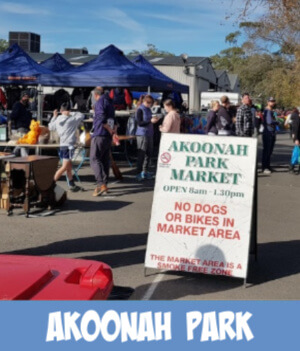 akoonah park market graphic link
