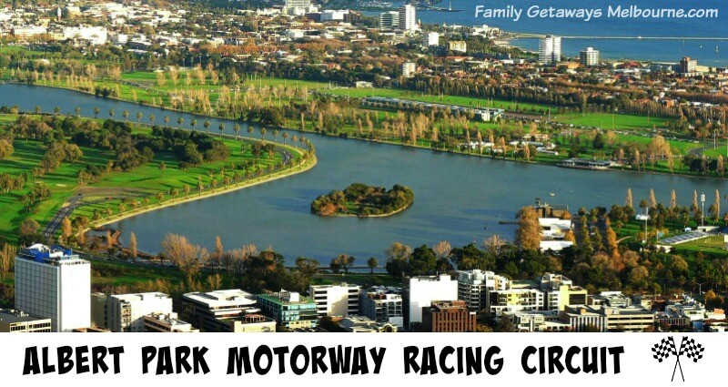 Albert Park Motor circuit for the Australian Grand Prix