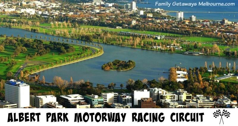 Albert Park Motor circuit for the Australian Grand Prix