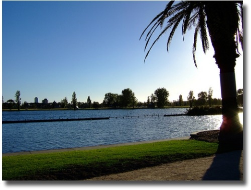Albert Park Lake Melbourne Australia compliments of http://www.flickr.com/photos/geezmoz/88565425/