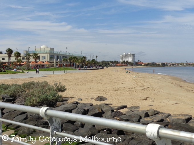 The Bay Trail at Port Melbourne Beach