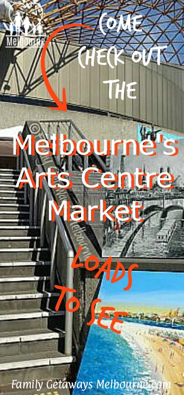 melbourne art centre image pin
