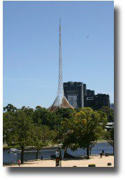 Art Centre Spire at Southbank Victoria compliments of http://www.flickr.com/photos/zoonabar/240823294/
