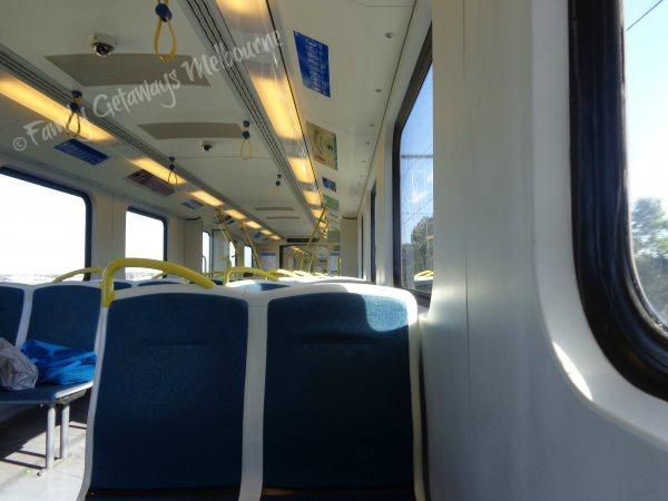 Metro train public transport