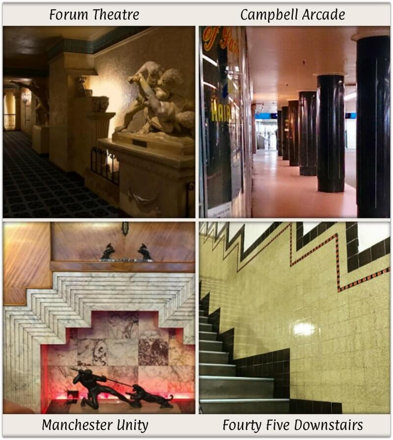 Examples of Art Deco Interiors in Melbourne