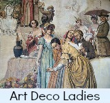 Image link to the Site page on art deco ladies