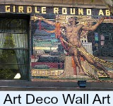 Image link to page on Art deco wall art