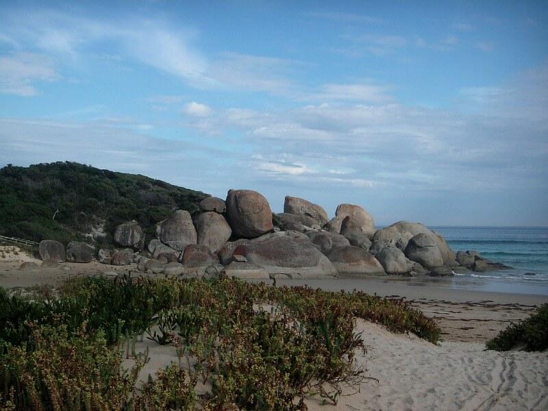 Beach on Wilsons Promontory