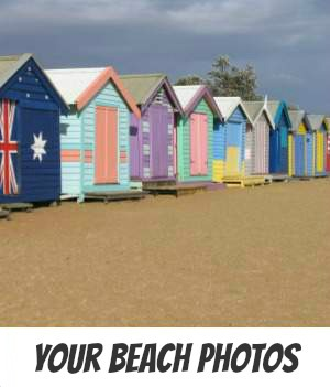Image links to the site page on sharing your family beach photo