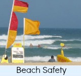 Thumbnail graphic link to Site Beach Safety Page