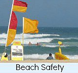 Thumbnail link to site page on beach safety