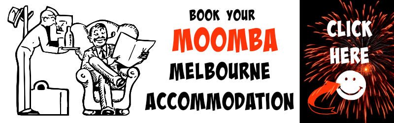 Melbourne Moomba accommodation banner image