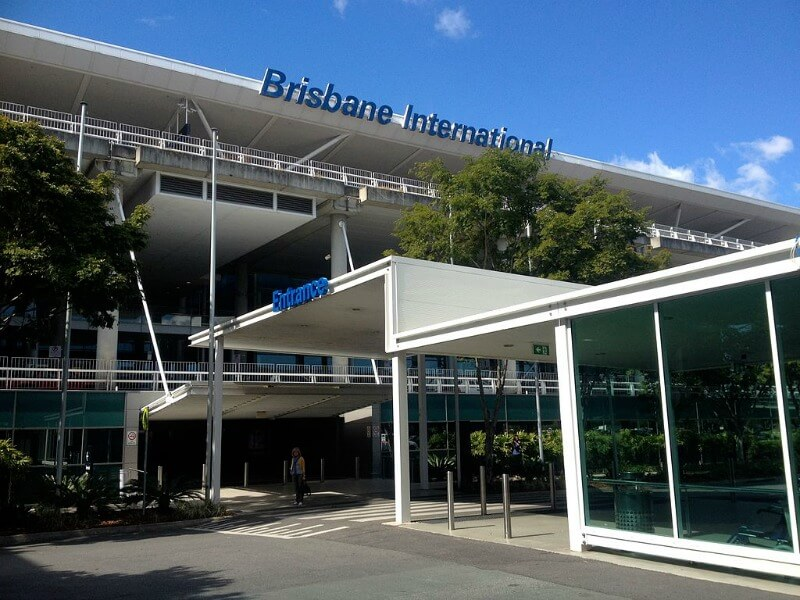 Brisbane International Airport compliments of Kgbo (Own work) [CC BY-SA 4.0 (http://creativecommons.org/licenses/by-sa/4.0)], via Wikimedia Commons