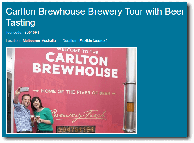 Viator Brewhouse Tour