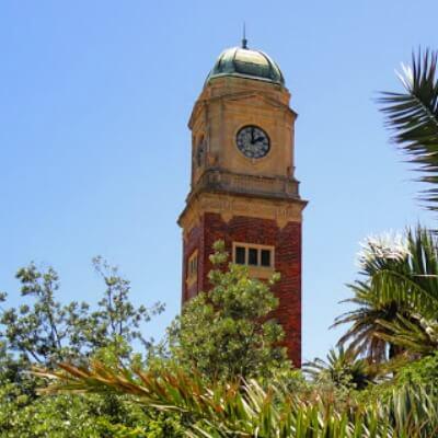 Catarni Gardens St Kilda Clock