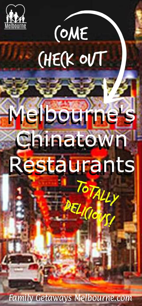 Image of Melbourne's Chinatown district to pin to Pinterest