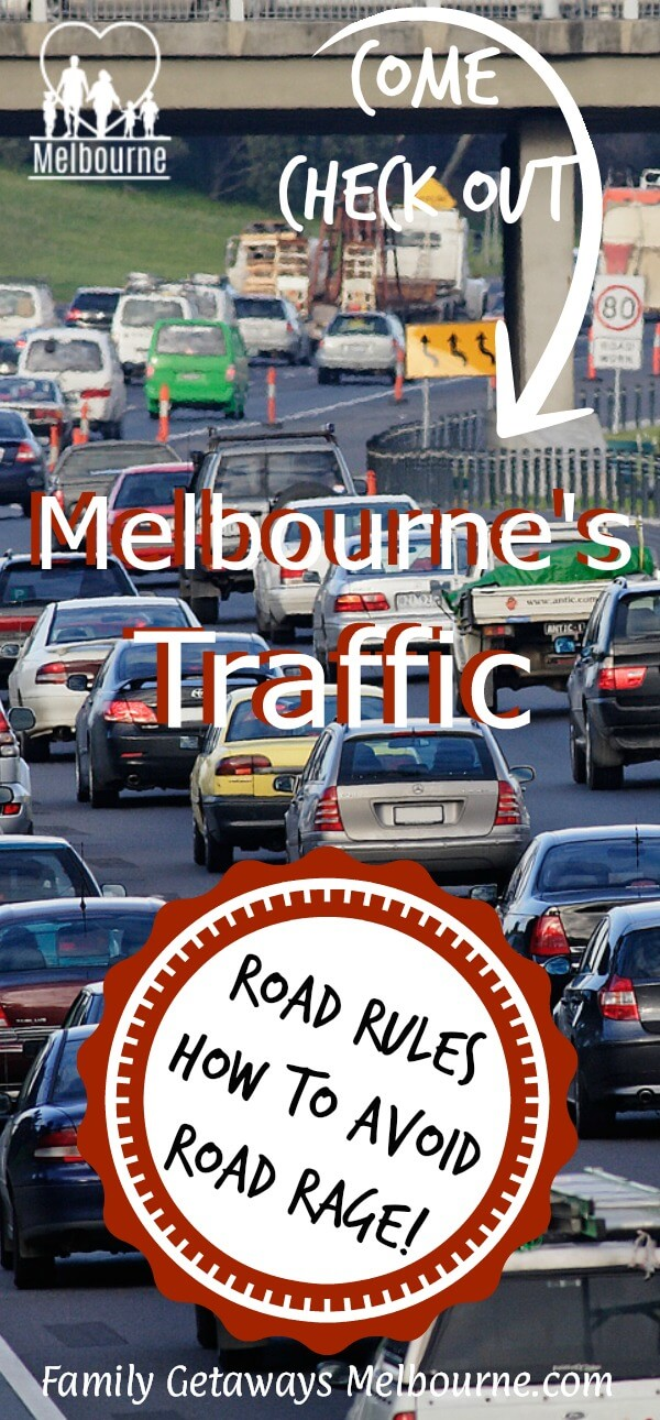 image for Melbourne Traffic to pin to Pinterest