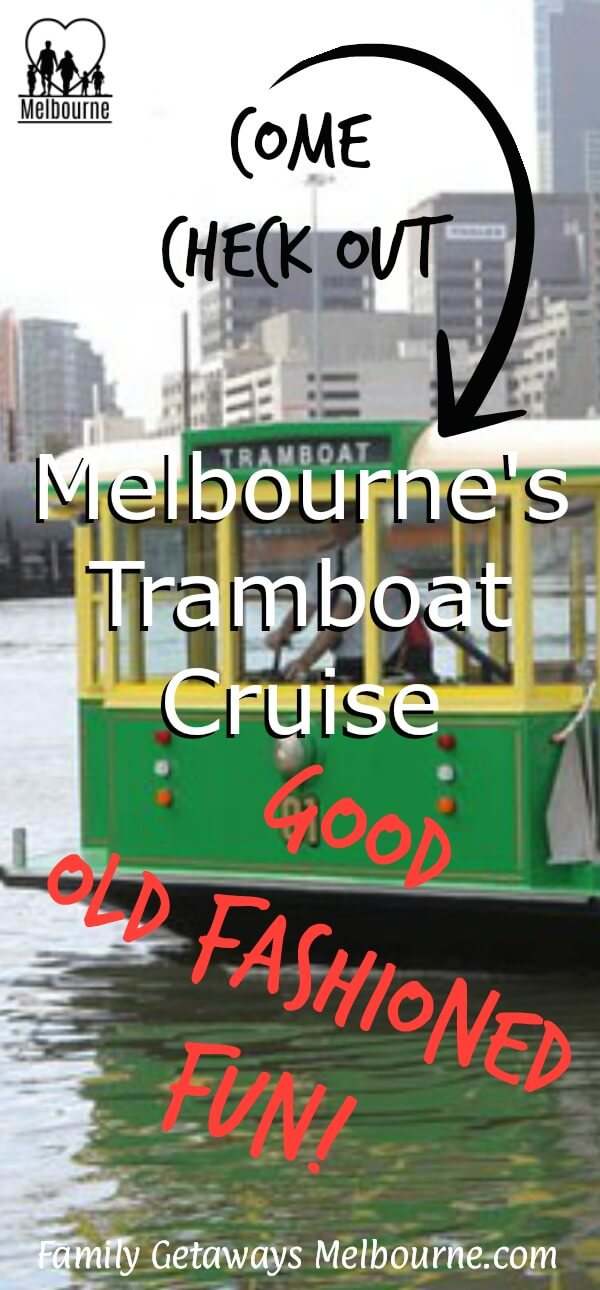 image to pin to Pinterest for the site page on river boat cruises in Melbourne