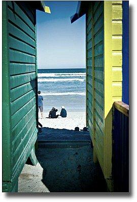 Beach huts at Chelsea Beach