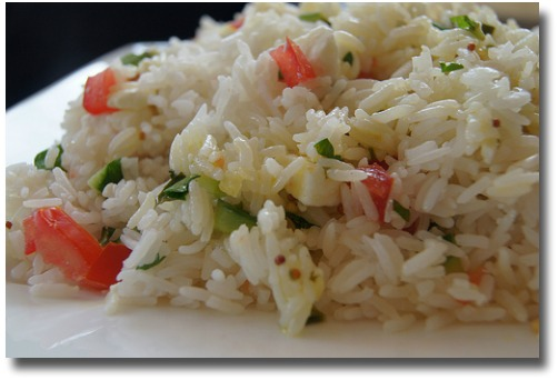 Rice Salad compliments of http://www.flickr.com/photos/28691409@N05/6862440351/in/photostream/