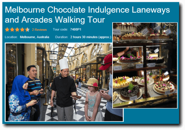chocolate indulgence walking tour image