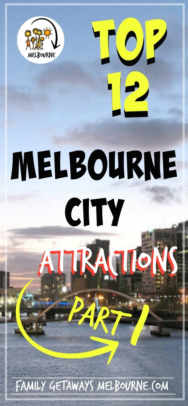 Melbourne attractions part 1 Pinterest pin