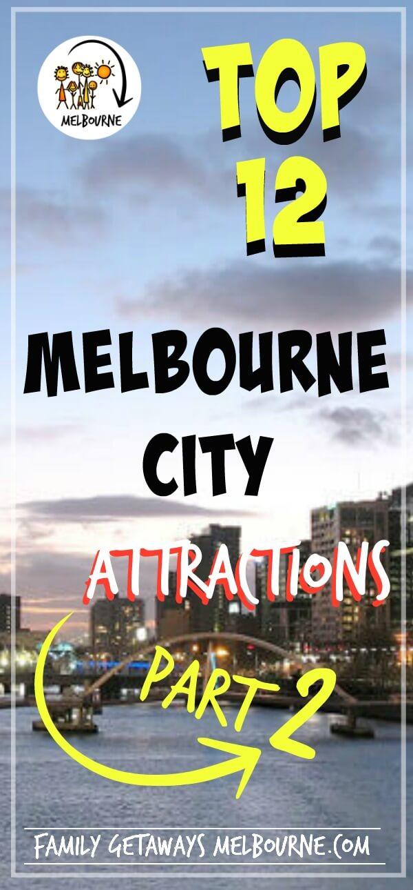 Melbourne tourist attractions part 2 Pinterest pin