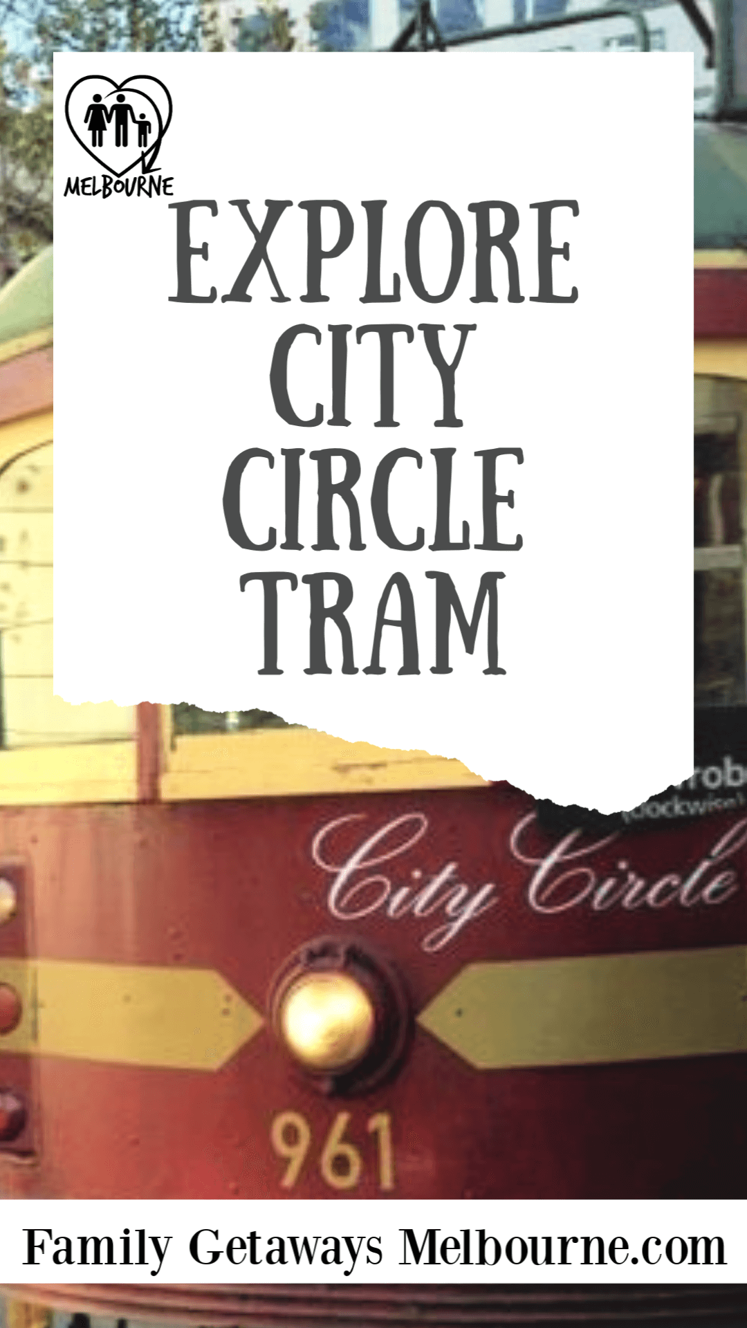 image to pin to pinterest for site page on the free city circle tram