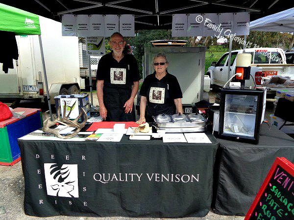 Coal Creek Farmers Market Venison Stall