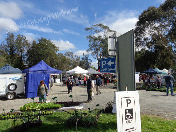 Coal Creek Farmers market car parking areas