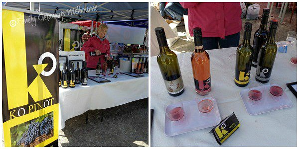 Coal Creek Farmers Market wine tasting
