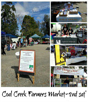 link to the Coal Creek Saturday Market