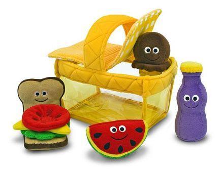 Fun picnic soft toys