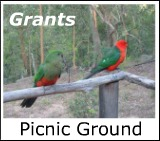 Graphic link to site page on Grants Picnic Ground in the Dandenongs