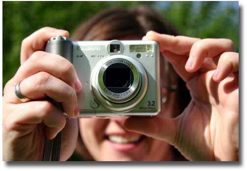 Take a memorable photo with your digital camera