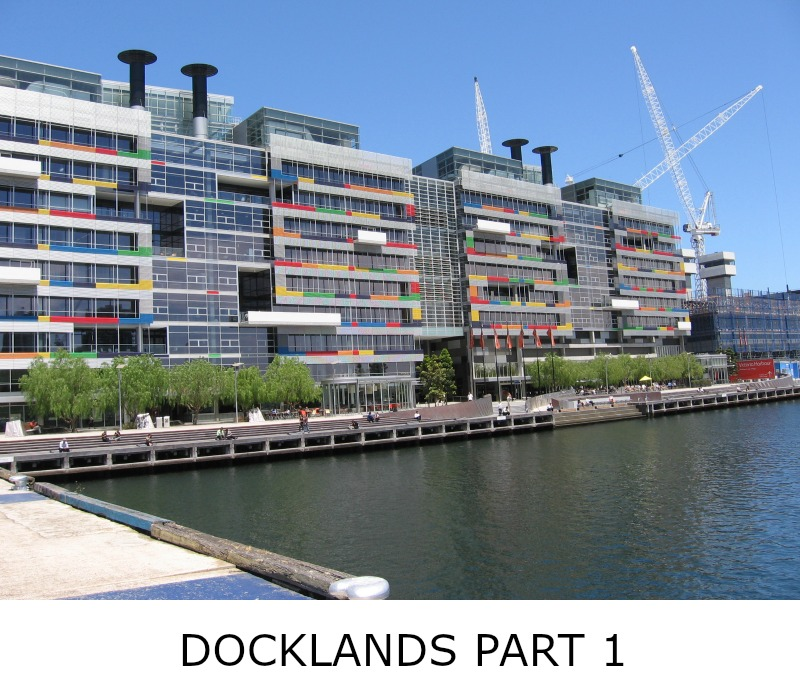 Image link to site page for more information on the Melbourne's Docklands