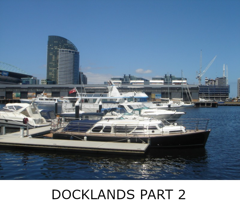 Image link to site page for more information on the Melbourne's Dockland area