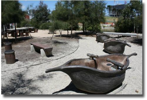 Docklands Melbourne Australia picnic spot compliments of Steve Curle
