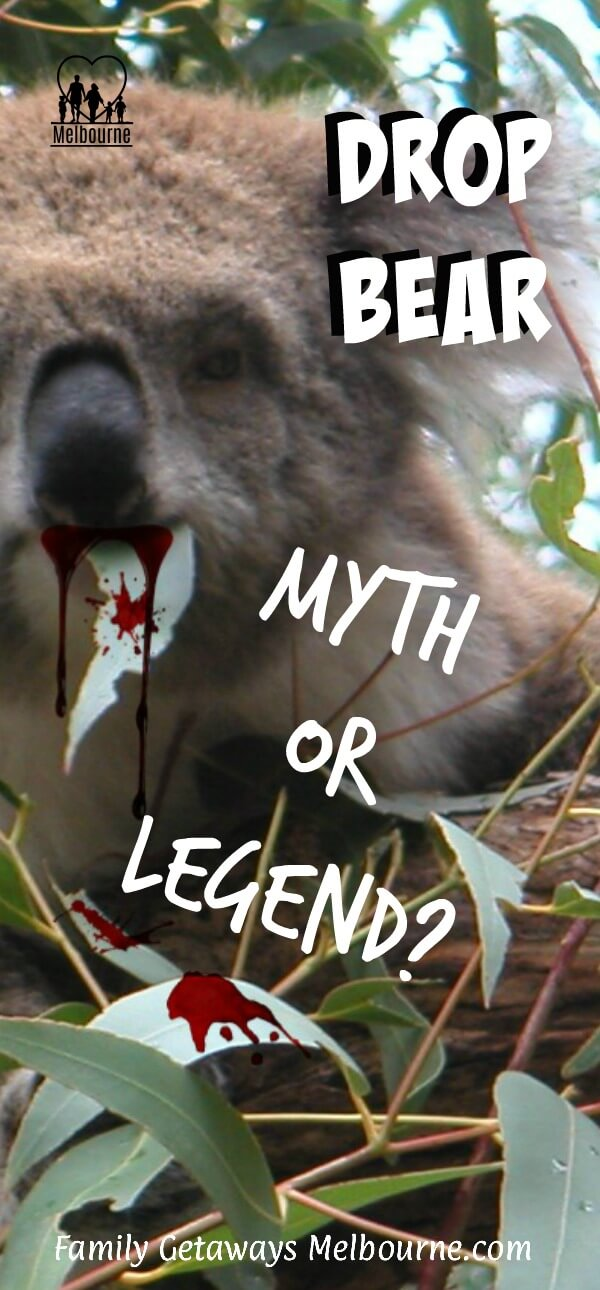 drop bear drooling blood