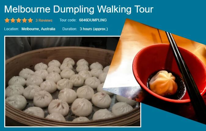 Melbourne Dumpling tour