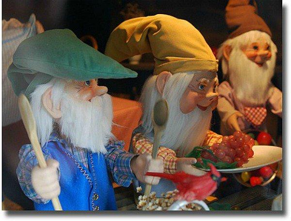 Dwarf puppets at Anakie Fairy Park Victoria Australia