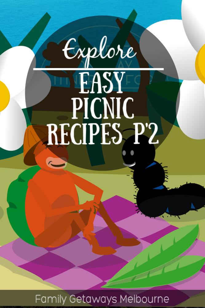easy picnic recipes pinterest pin